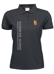 dames polo 1401_alumni logo 2015_dark grey_nyenrode