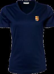 dames shirt 585_alumni logo_navy_nyenrode