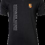 Mens Stretch V-Tee Nyenrode Alumni VCV Logo 2015