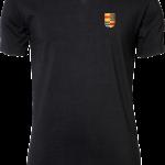 Mens Stretch V-Tee Nyenrode Alumni VCV Logo