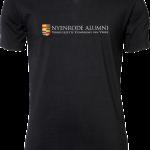 Mens Stretch V-Tee Nyenrode Alumni VCV Original Logo