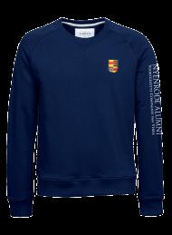 heren sweater 5400_alumni logo 2015_navy_nyenrode