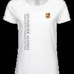 Ladies Luxury Tee Nyenrode Alumni VCV Logo 2015