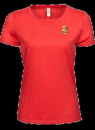 tshirt dames 5001_alumni logo_coral_nyenrode