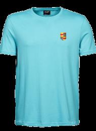 tshirt heren 5000_logo_aqua_nyenrode